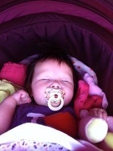 2011-07-15 Chloe I love SU maar val in slaap