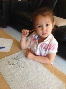 2014-06-13 Chloe tekent iedereen2