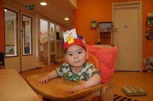 2014-07-01 Sylvain viert verjaardag op creche12