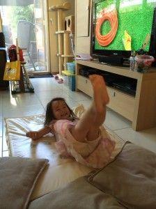 2014-07-18 Chloe kan zelf koppeltje duiken3