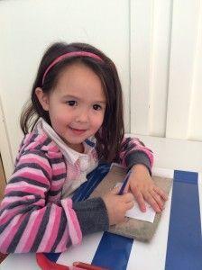2014-10-03 Chloe geeft papa een lesje op school7