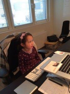 2014-10-30 Chloe schrijft brief aan mama2