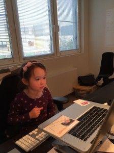 2014-10-30 Chloe schrijft brief aan mama3