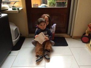 2014-11-16 Kids zingen voor Sinterklaas