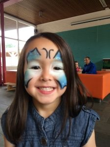 2015-08-18 Chloe is een Elsa-vlinder op Casa2