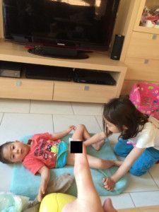 2016-05-12 Kids verschonen zich samen1