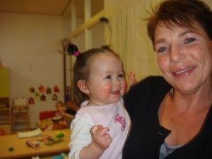 2012-04-17 Chloe's eerste verjaardag op creche54
