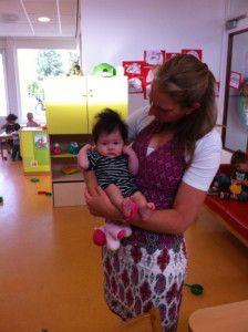 2011-07-05 Chloe's eerste dag op de kinderopvang