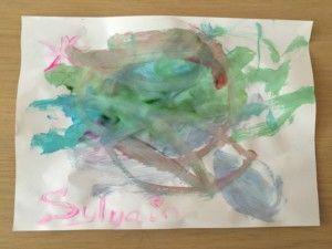 2016-07-21 Sylvain schildert zijn eigen kunst2