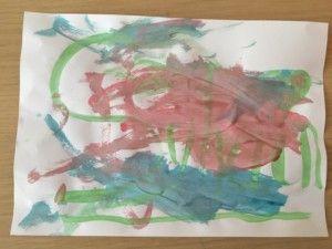 2016-07-21 Sylvain schildert zijn eigen kunst3