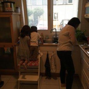 2016-08-02 Kids helpen met koken1